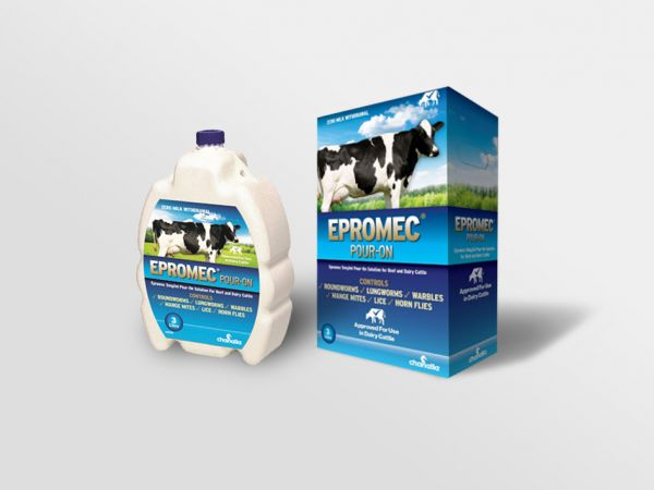Epromec 5 mg/ml Pour-on Solution For Beef & Dairy Cattle