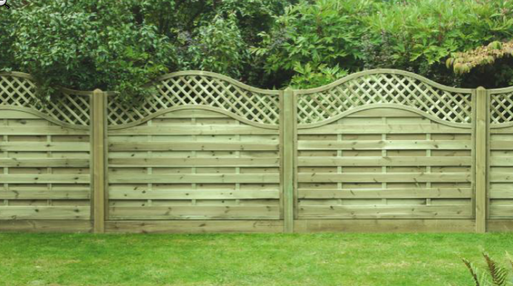 KDM Fence Panels OMEGA LATTICE TOP