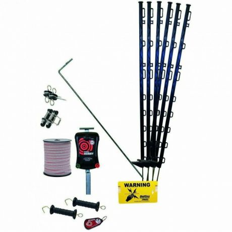 Hotline 47HK450-200 Handy Electric Fence Kit for Horses 200m of Fencing