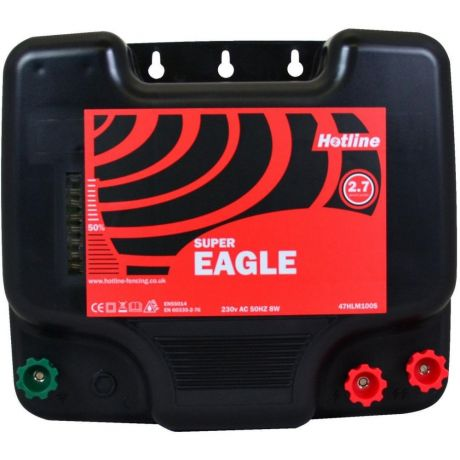 Hotline Super Eagle HLM100S Mains Electric Fence Energiser