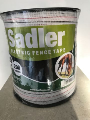 Hotline Electric Fencing Tape 20mm, 200 meters Manufactured for Sadler